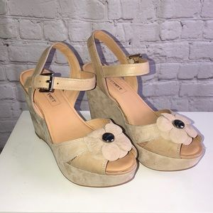 COACH Poppy Wedges (Elyssa)